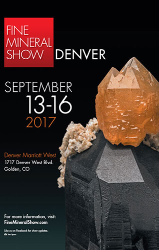 DENVER FINE MINERAL SHOW See you in September READ MORE »