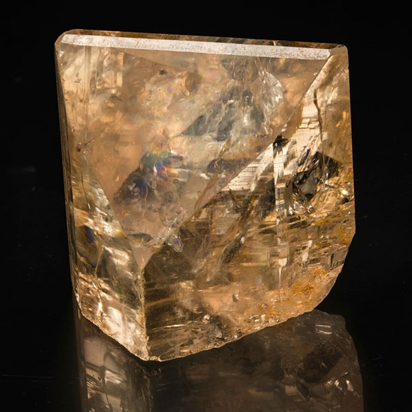 Golden Topaz from Mogok