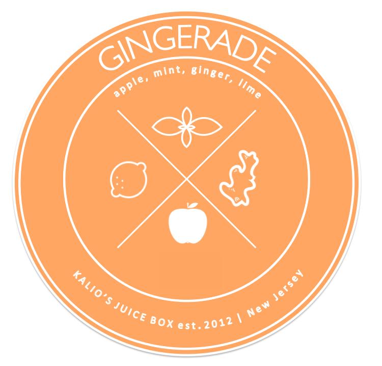 gingerade apple mint lime ginger Fresh Juice Kalio Kali Box