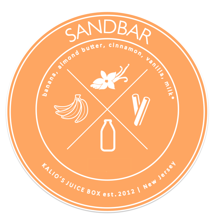 sandbar banana cinnamon vanilla smoothie Juice Kalio Kali Box