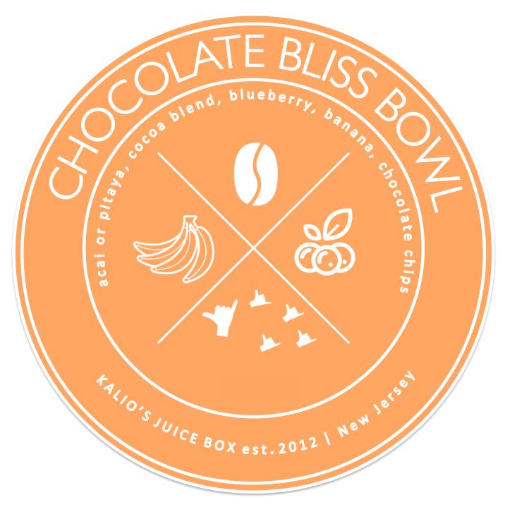 Chocolate Bliss Bowl Acai Pitaya Kali Kalios