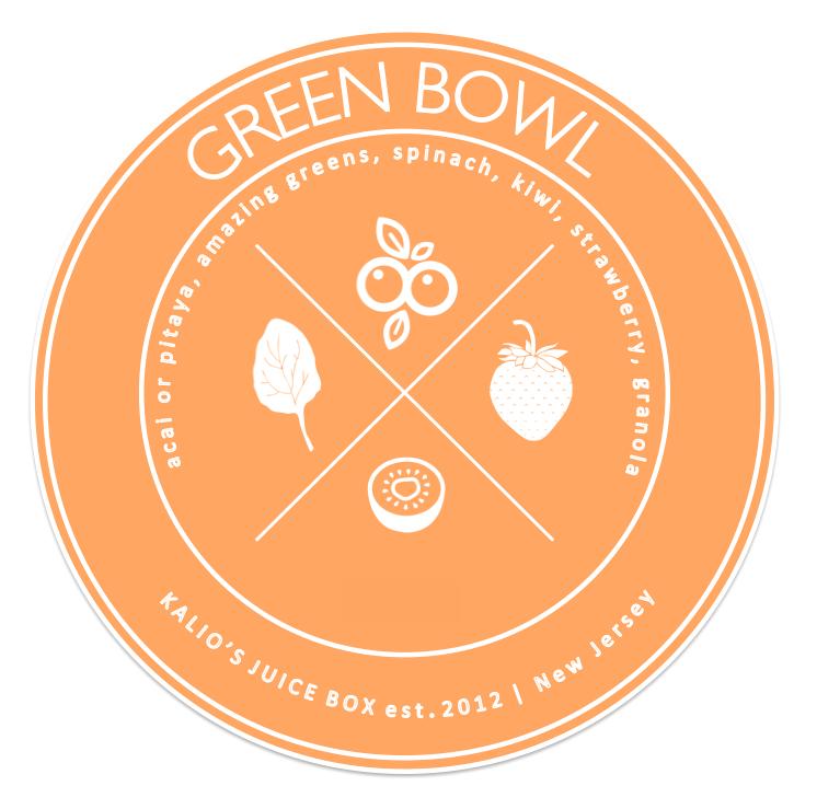 Green Bowl Acai Pitaya Kali Kalios Juice Box
