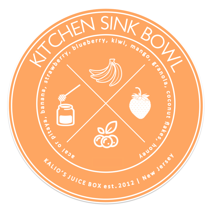 Kitchen Sink Bowl Acai Pitaya Kali Kalios Juice Box
