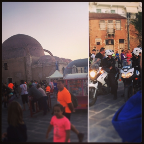 Old Town Chania 5K run (walk)