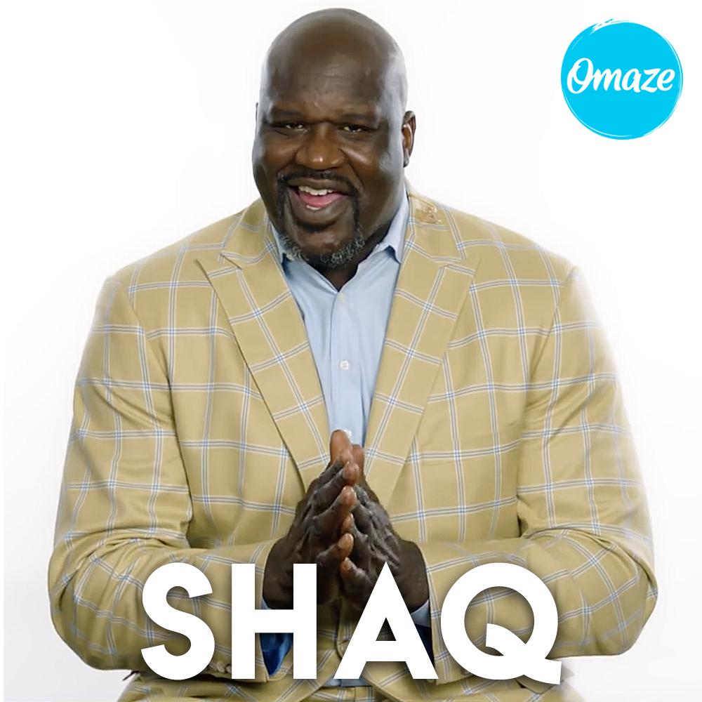 Shaq for Omaze