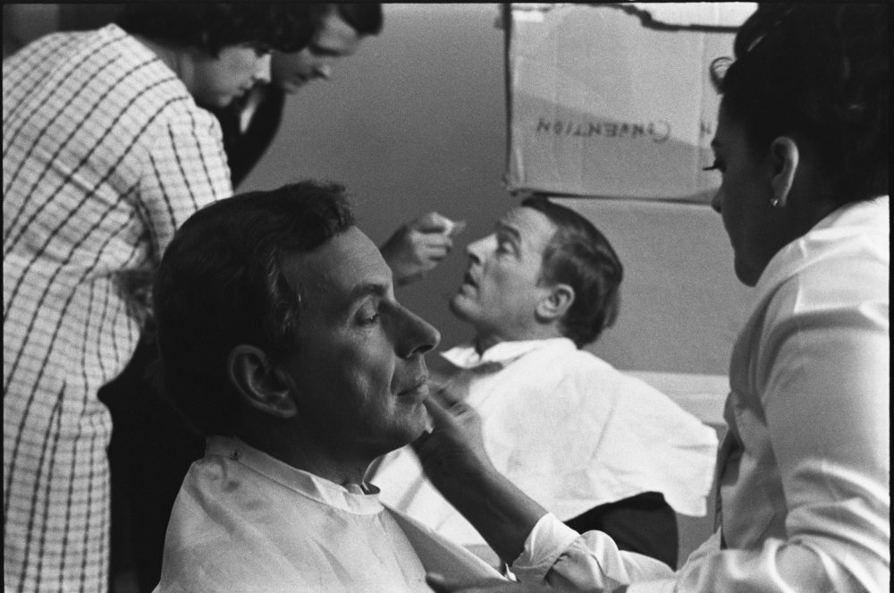 Gore Vidal and William F. Buckley Jr in BEST OF ENEMIES, a Magnolia Pictures release. Photo courtesy of Magnolia Pictures.