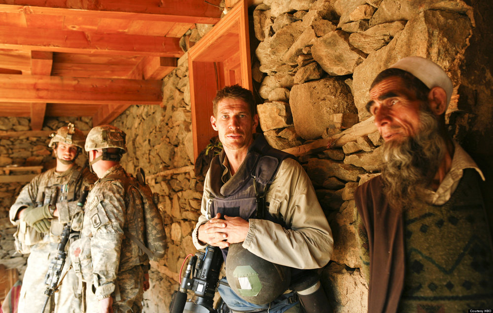Which Way Is The Front Line From Here: The Life and Time of Tim Hetherington . Photo credit: HBO