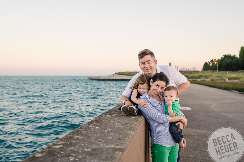 Montrose Harbor Family Session