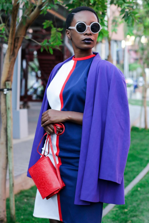 Model: Andile Biyanna for Glamour Magazine.
