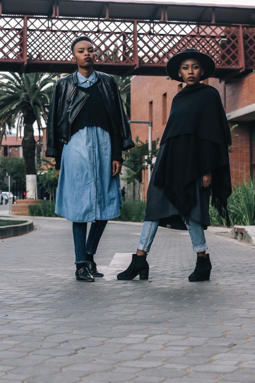 Models: Keneilwe Nei & Shelley Lmokoena.