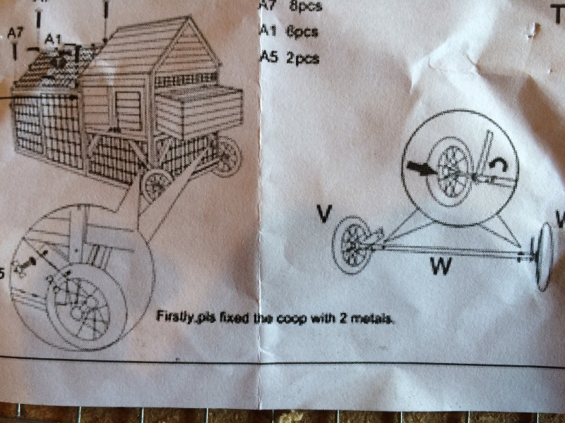 My favorite part of the assembly instructions