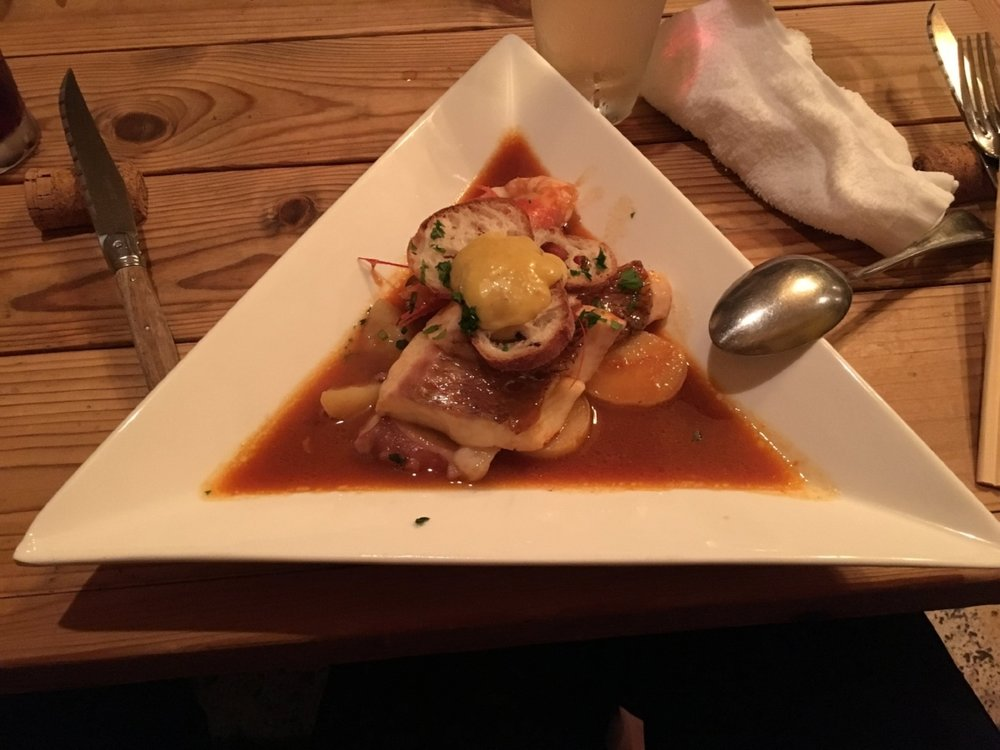 Japanese French bouillabaise in Kyoto