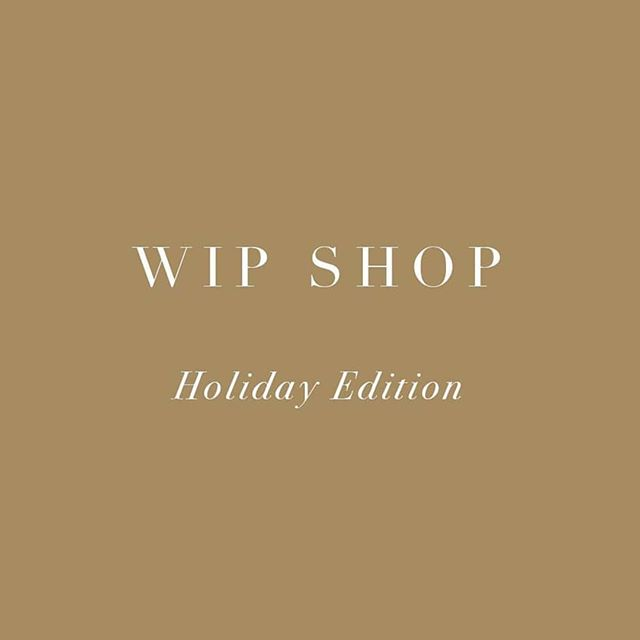 We're super excited to be joining our friends over at @wip_studio for their annual WIP Shop holiday edition. They've curated a pretty impressive collection of fashion, jewellery & homewares by a bunch of local, independent designers. Our 'For Home' range will be available to purchase, with select display pieces from our 'For Hire' collection available for viewing. Come see what we've spent the better part of this year working on and shop local this Christmas ❤️ Dec 6 - 20  507 Crown St, Surry Hills