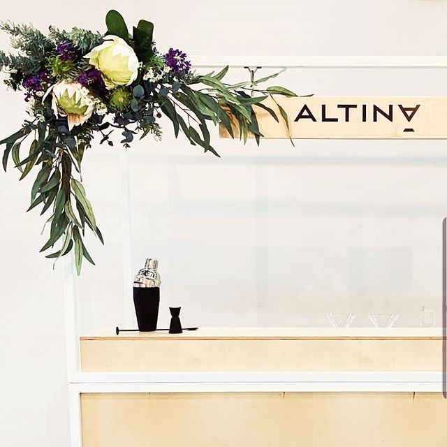 We recently made this custom kiosk for the seriously impressive team over at @altinadrinks. There's no denying we enjoy a tipple or two, but these guys are seriously changing up the game (and our minds) with their delicious alcohol free cocktails. Go check 'em out, no hangover guaranteed 💪