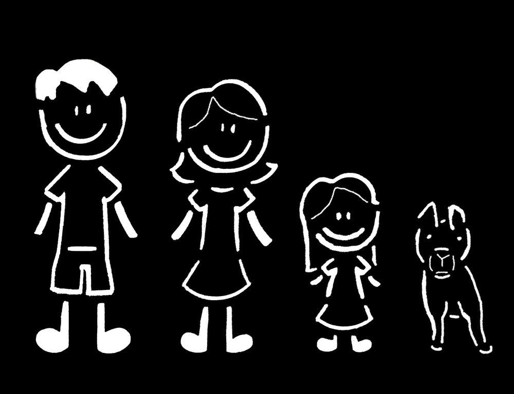 Stick Family 1