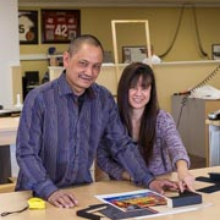 Franklin & Gigi Peralta-CEO & CFO