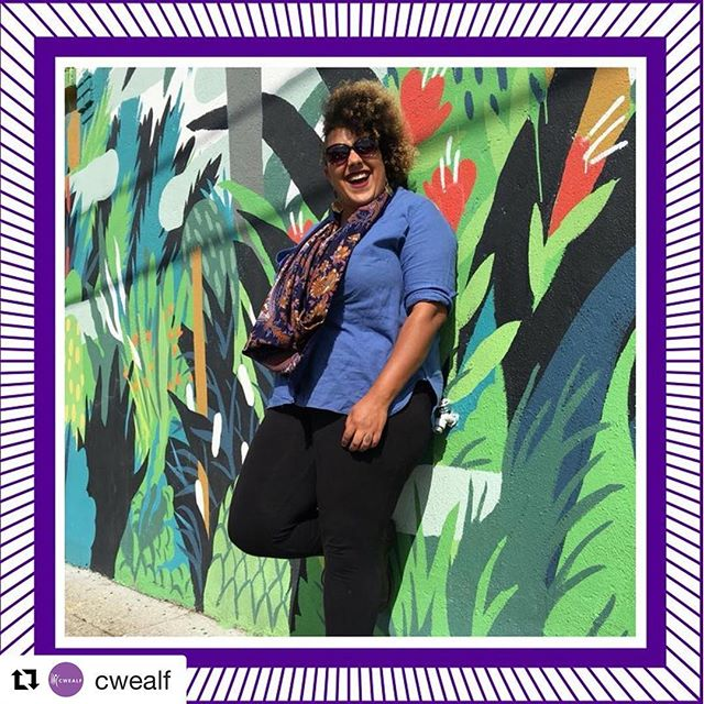 #Repost @cwealf with @get_repost ・・・ Get to know more about another of our inspiring The Future is NOW awardees:⠀ ⠀ Kristianna Smith is the Owner and CoFounder of @via_arts_llc. A facilitator, theatre artist, and educator, she has spent over a decade working to reinvigorate the human experience through theatre arts. Kristianna works with educators, community organizers, and civic leaders to enhance their methods and practices with arts infusion. Through arts-based programming, she collaborates with her partners to increase their accessibility to address the difficult topics of privilege, equity, oppression, and creativity within their communities. Kristianna was one of 24 creatives chosen as a 2017-2018 National Arts Strategies Creative Community Fellow, where she began development of an arts integrated approach for community members that utilizes theatre techniques at every stage of policy planning. ⠀ ⠀ Recently, Kristianna has been exploring her pregnancy journey through her personal blog: The Curlless Journey. She's tied this journey into her search for more creative ways to co-devise a world of inclusion. ⠀ ⠀ Kristianna is known for her quick wit, can-do attitude, love of play, and obsession with the color purple.⠀ ⠀ 🎉Join us as we celebrate Kristianna on June 19! Click on the link in our bio to purchase your ticket today! 🎉 ⠀ #TheFutureisNOW #celebrate #youngwomenleaders #connecticut #CWEALF #MondayMotivation
