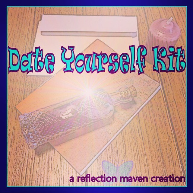 Pre orders are open!! I'm starting with 50 kits. I expect them to ship by November 2nd.  If you are local and want to arrange a meet up for your order message me for the free shipping code! bit.ly/selfiedate #selflove #selfiedate #dateyourselfkit #reflectionmaven #creativity #postpartumjourney #loveyourself