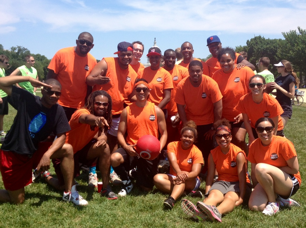 2014 CBA Kickball Team