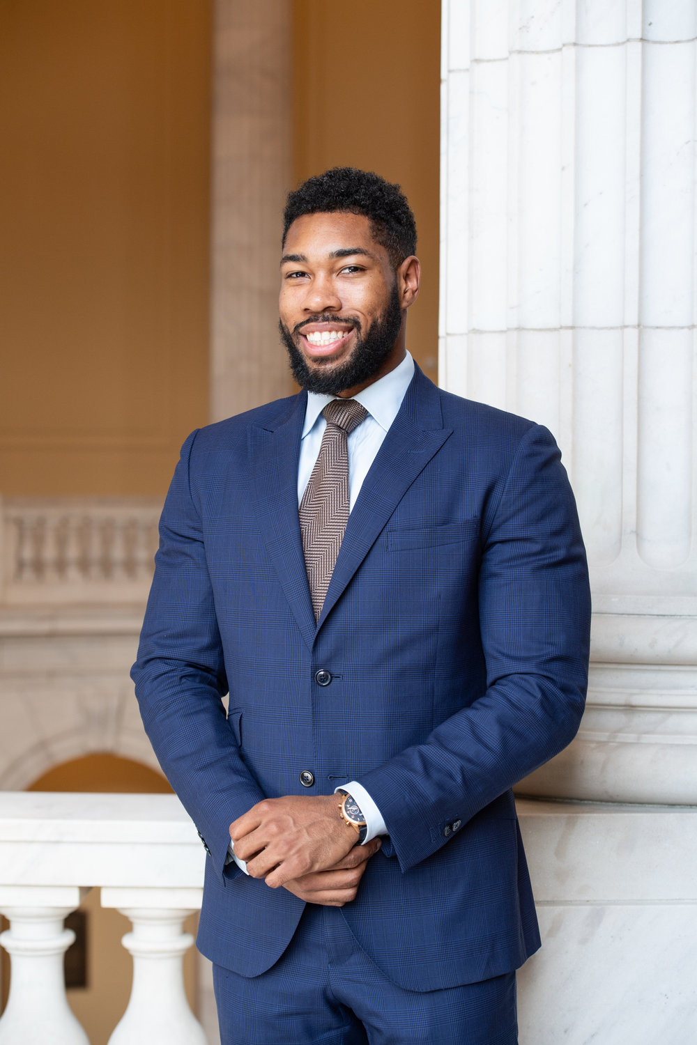 - Paul Nicholas serves as the Staff Assistant in the office of Congressman Steny Hoyer (MD-05). He has been a member of CBA since 2016 where he was an intern in the office Congressman Elijah Cummings (MD-07) as well as the Committee on House administration. Paul grew up in Prince George's County, Maryland and graduated from the University of Maryland, College park where he focused in Public Policy and Business Administration. He is very proud to be part of the 2019 CBA executive board serving as Parliamentarian.
