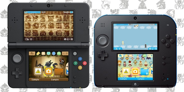 The two new Monster Hunter 4 Ultimate themes may or may not look like this...
