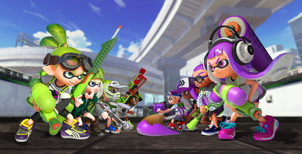 Splatoon makes its way to the Wii U worldwide on May 29th! Get ready to ink!