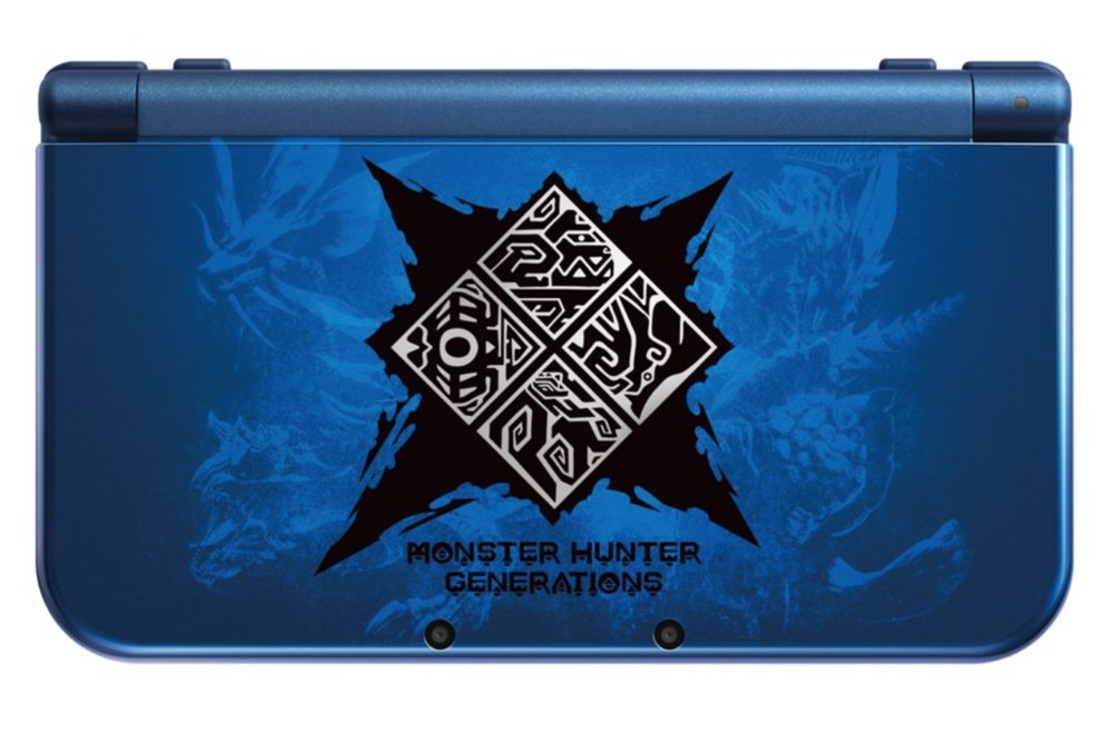 Limited Edition *new* 3DS XL Monster Hunter Generations theme