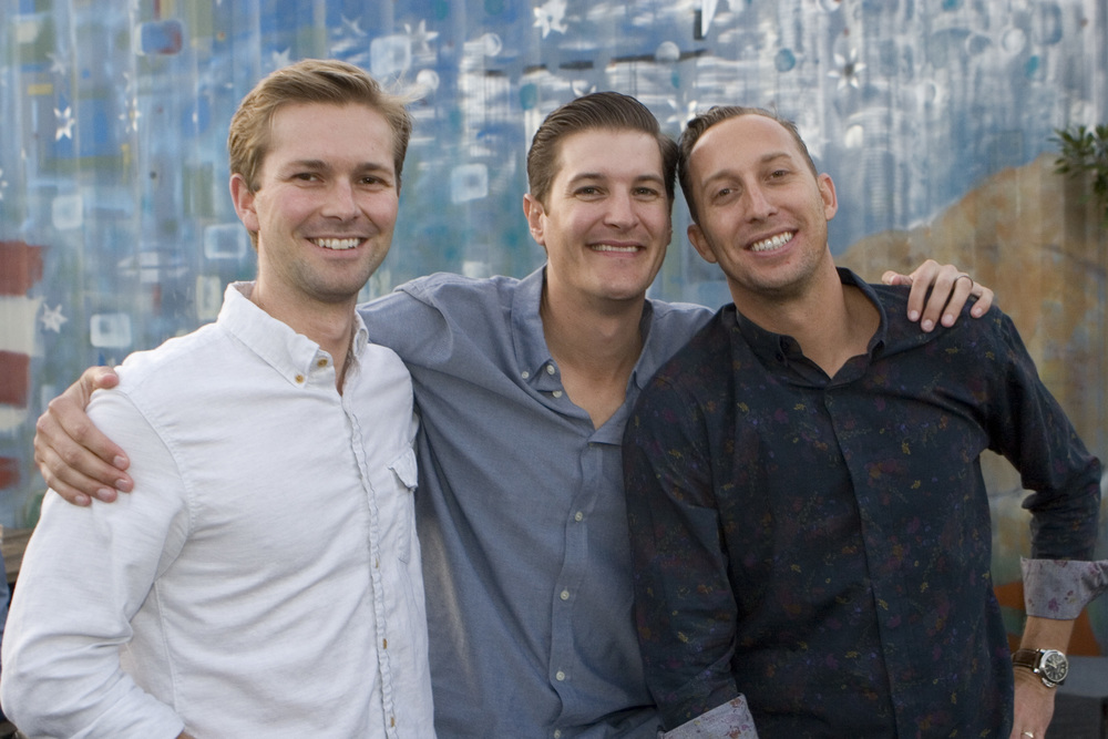 Charlie Farmer, Chris Trudeau, Aaron Stapp