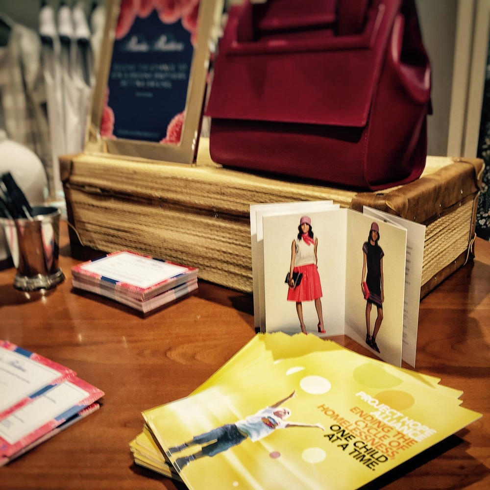 Brooks Brothers Fashion Island Women's Collection by Zac Posen launch event.