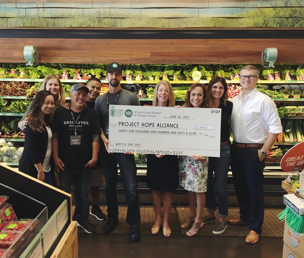 WHOLE FOODS  RAISES NEARLY $22,000  FOR THE KIDS   Learn More