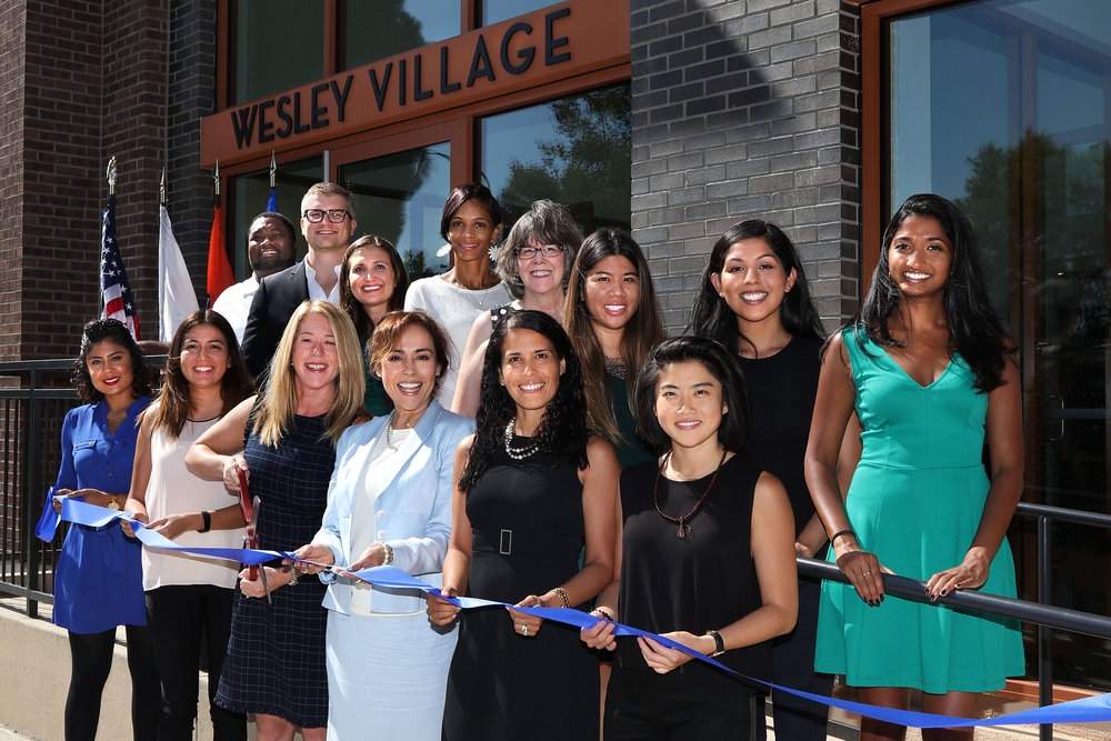 Team Kid at Wesley Village Ribbon-Cutting Celebration (Photo: JuanTallo.com)
