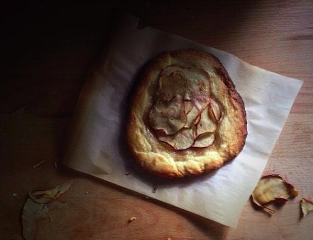 Leite's Culinaria Rustic Apple tart