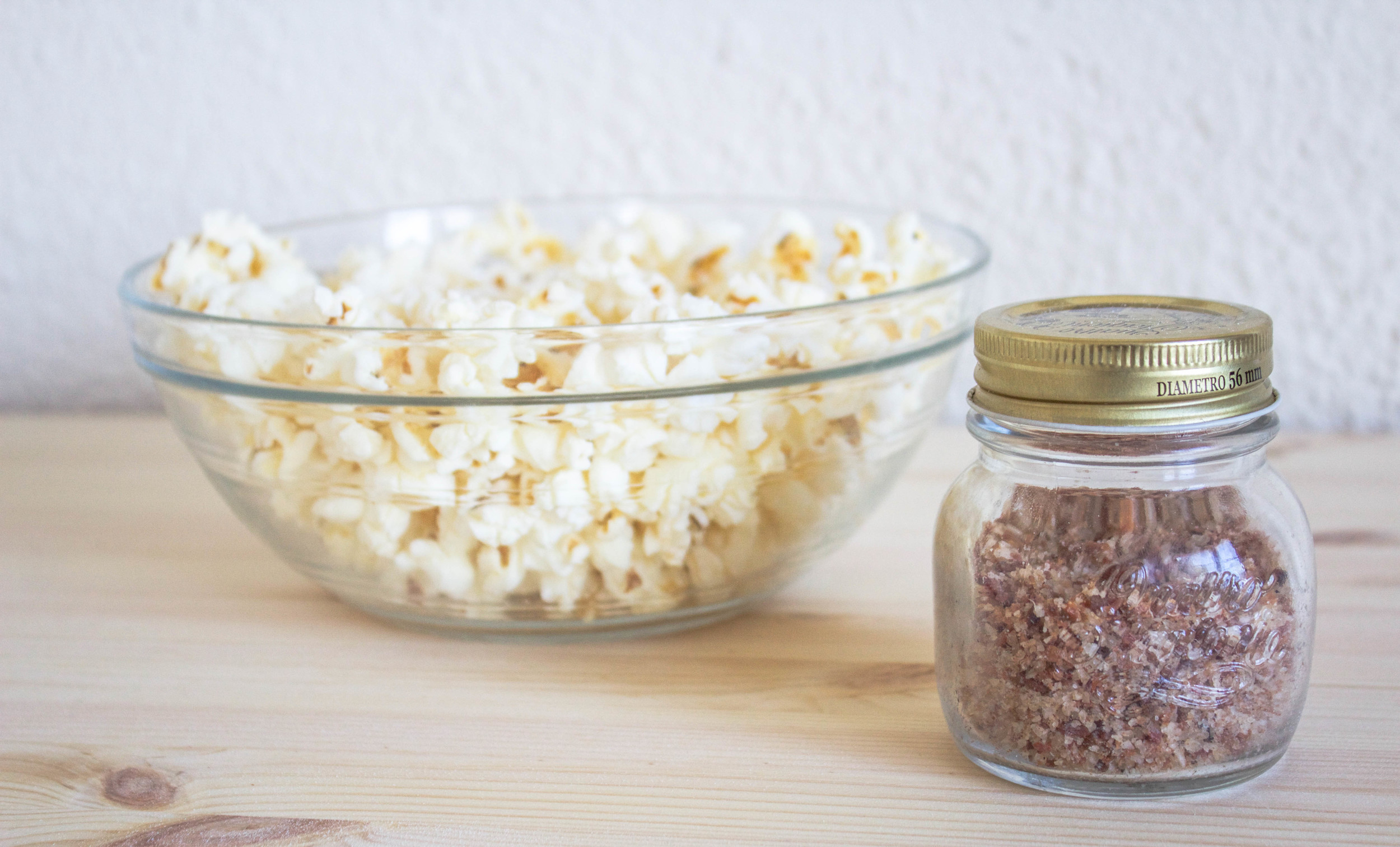 Bacon Salt and Popcorn