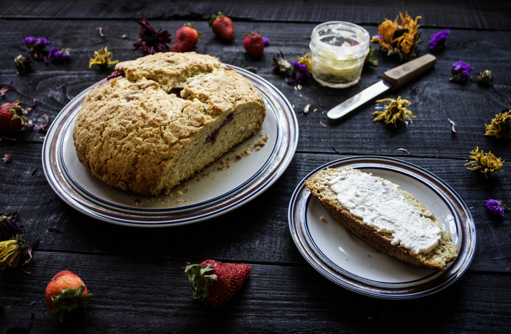 Strawberry Soda Bread
