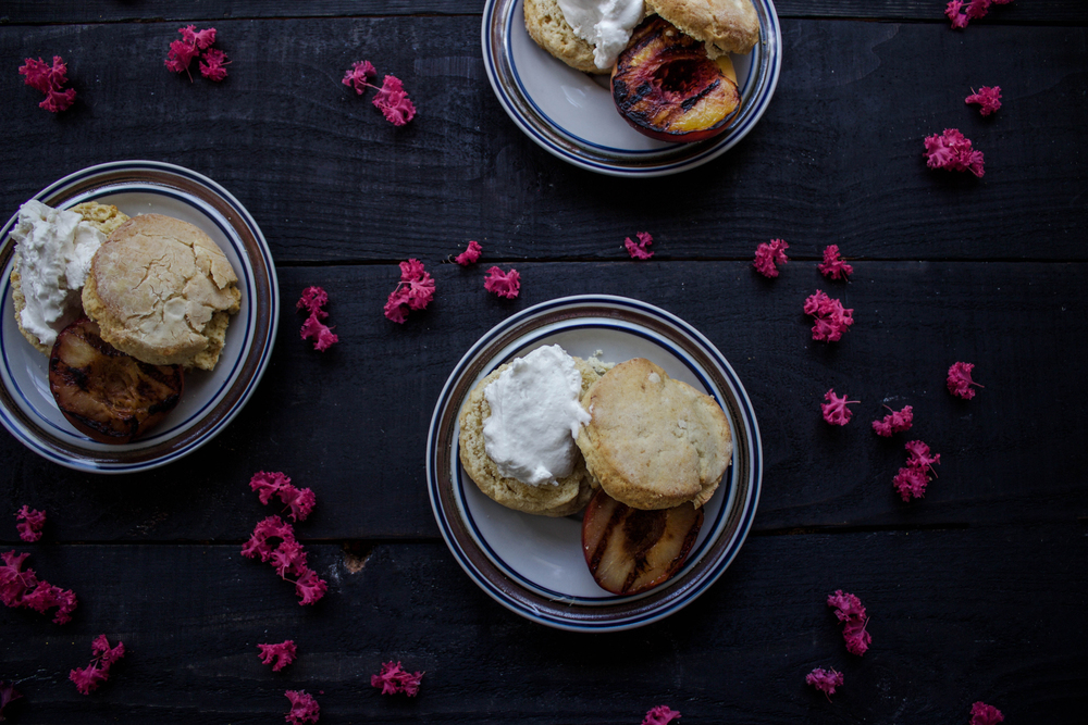 Grilled Stone Fruit Shortcake