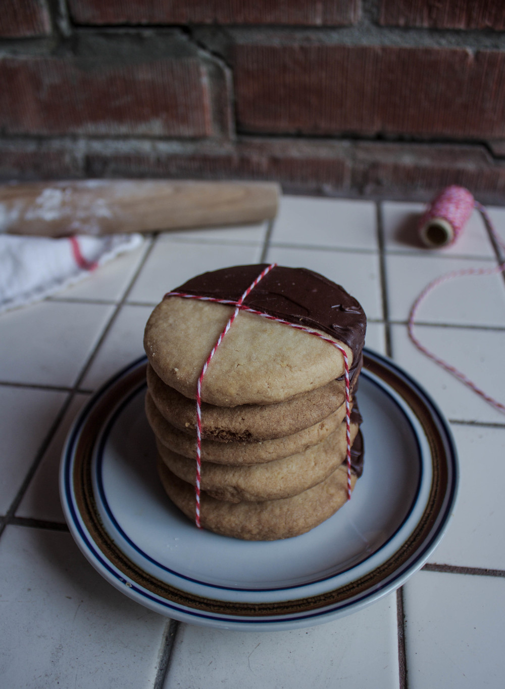 Potato Chip Shortbread Cookies