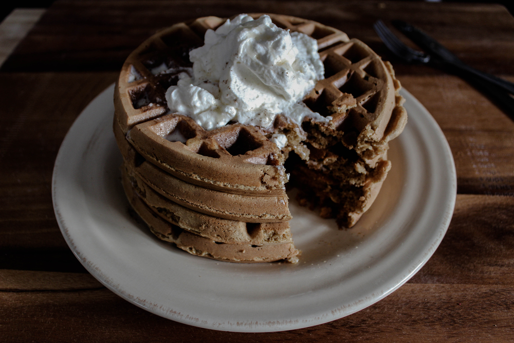 Graham Crackers and Milk Waffles