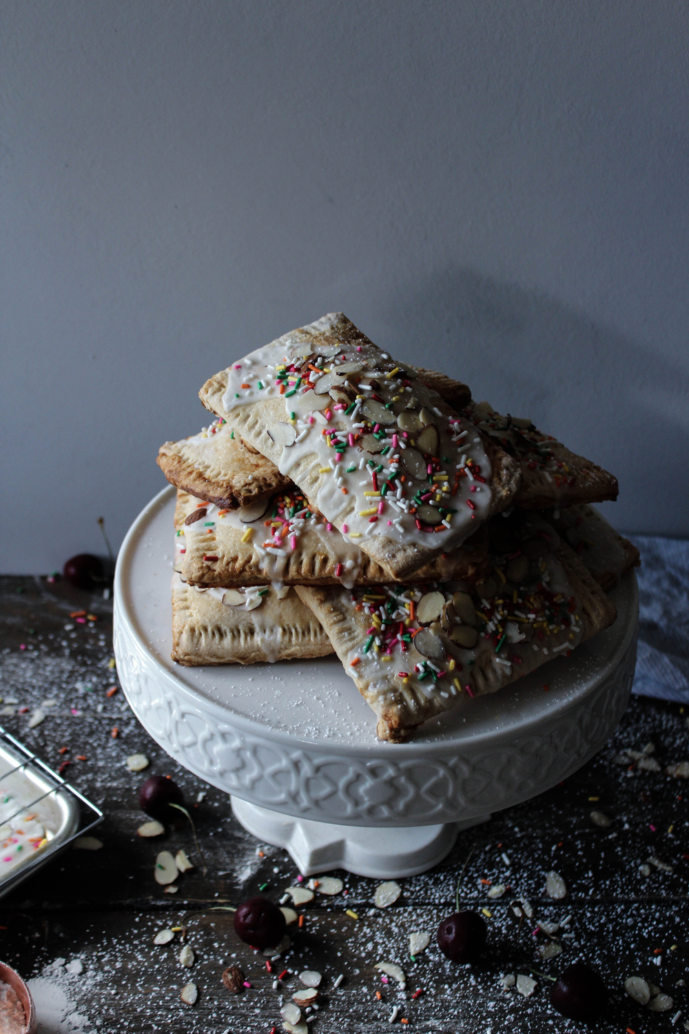 Cherry and Beer Poptarts