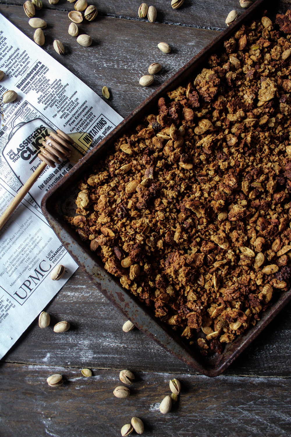 Pumpkin Granola - Virtual Pumpkin Party 2016