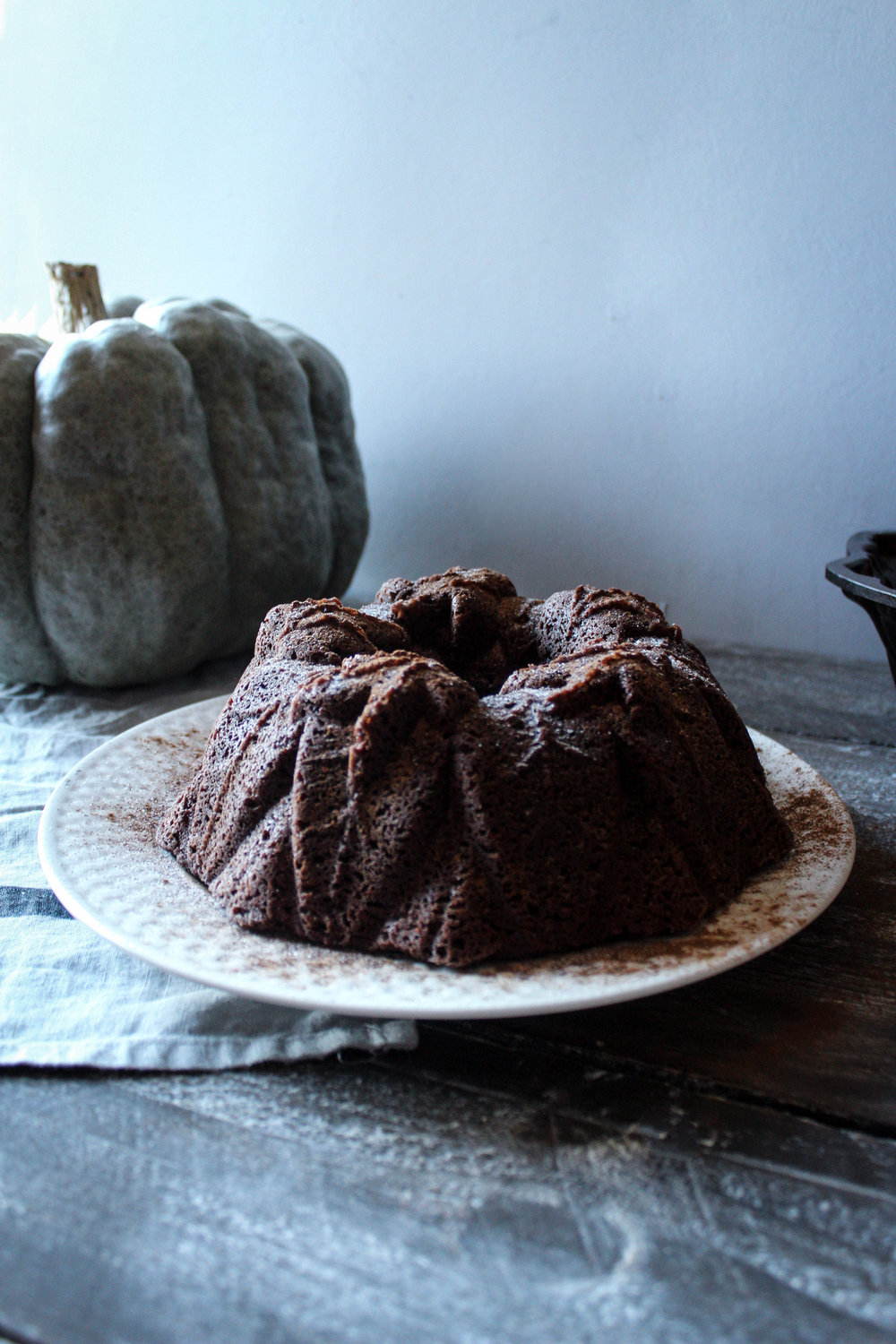 Pumpkin Chocolate Bundt, in partnership with Nordicware