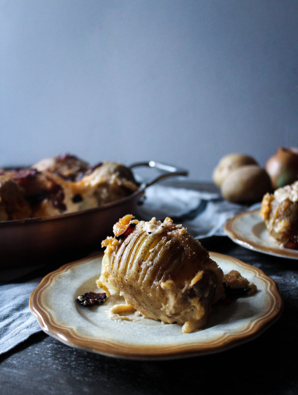 Hasselback Scalloped Potatoes