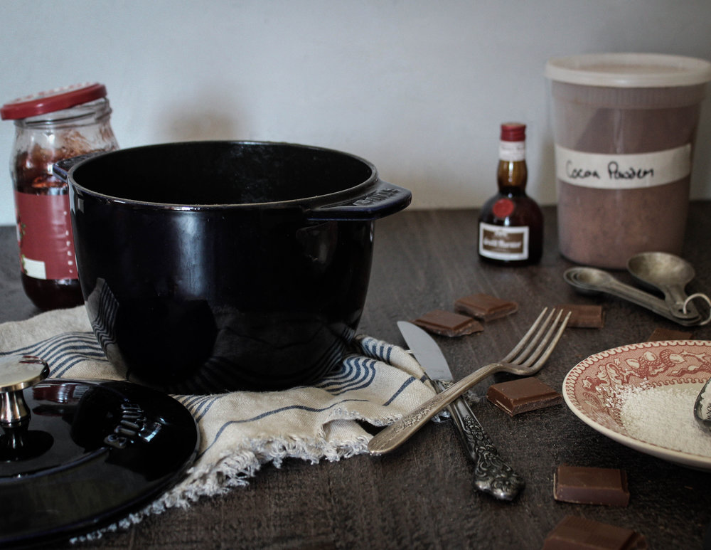 dutch oven chocolate cake with staub - Staub Dutch Oven