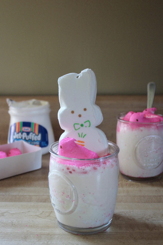 Peep Marshmallow Milkshake