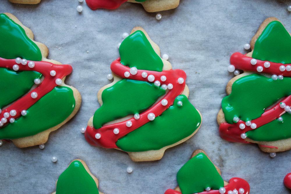 Modern Farmer - Christmas Tree Cookies