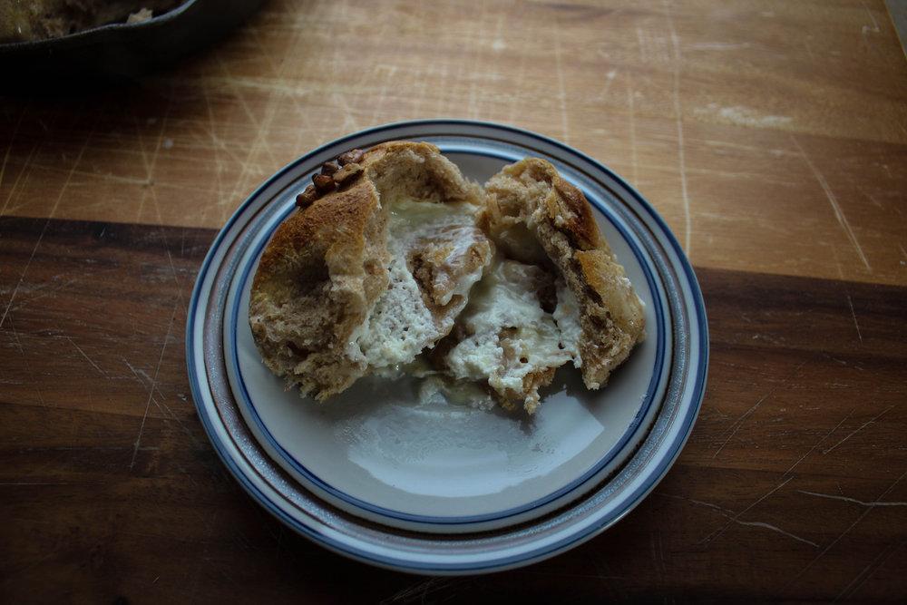Goat Cheese Stuffed Honey Wheat Rolls (Red Star Yeast and Vermont Creamery)