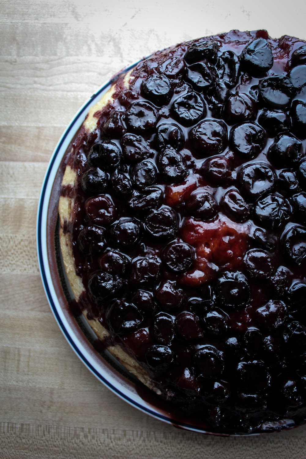 Caramel Cherry Upside Down Cake