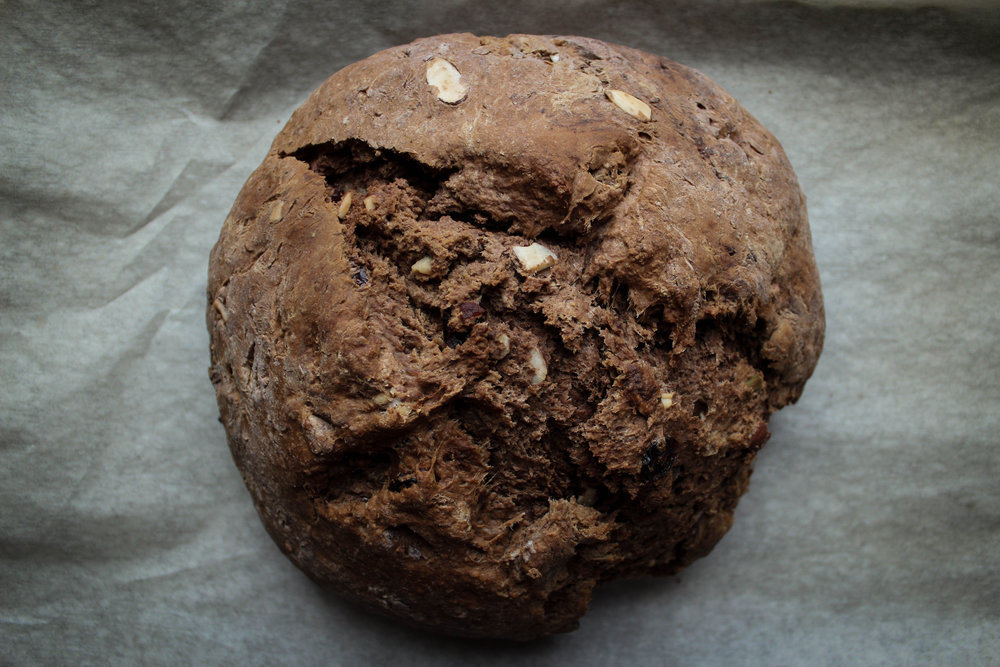 Fruit and Nut Irish Soda Bread