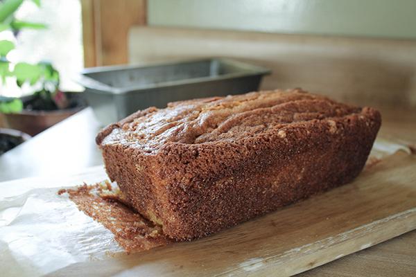Pink Lemonade Loaf Cake