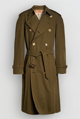 BURBERRY Westminster Trench in Dark Khaki
