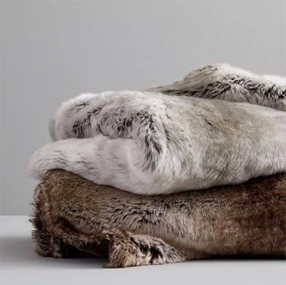West Elm Faux Fur